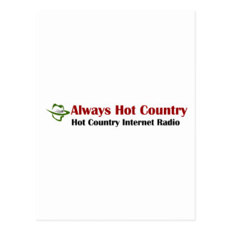 Always Hot Country Merchandise Postcard