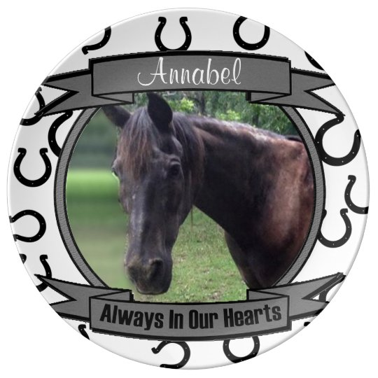 Always in Our Hearts - Horse Memorial Porcelain