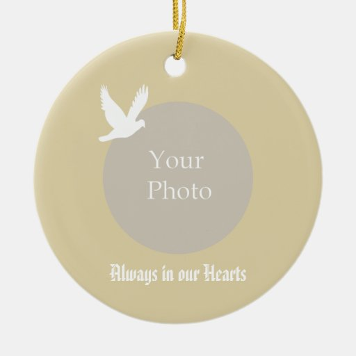 Always in our Hearts Memorial Christmas Ornament