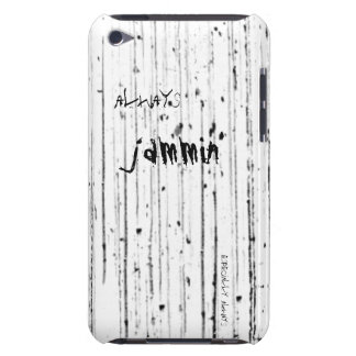 Always jammin grunge rock iPod case Barely There iPod Covers