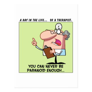 Always Listen to the Advice of Your Therapist Postcard