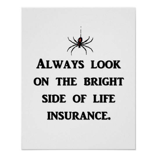always-look-on-the-bright-side-of-life-insurance poster