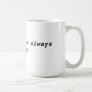 Always Miata coffee mug. Basic White Mug