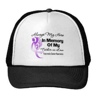 Always My Hero Father-in-Law - Pancreatic Cancer Trucker Hat