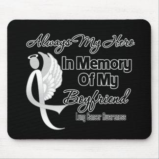 Always My Hero In Memory Boyfriend - Lung Cancer Mousepad