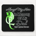 Always My Hero In Memory Dad - Lymphoma Mouse Pad