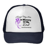 Always My Hero In Memory Dad - Pancreatic Cancer Hats