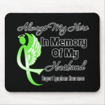 Always My Hero In Memory Husband - Lymphoma Mouse Mat