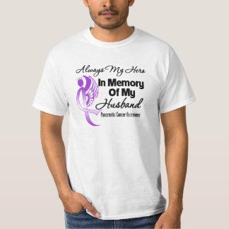 Always My Hero In Memory Husband Pancreatic Cancer Tshirt