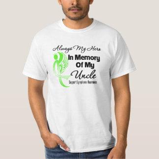 Always My Hero In Memory Uncle - Lymphoma T-Shirt