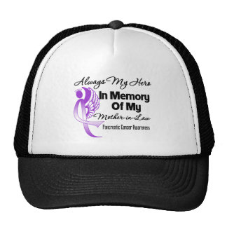 Always My Hero Mother-in-Law - Pancreatic Cancer Hat