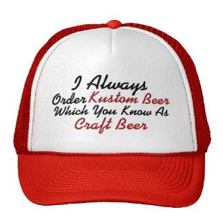 Always Order Kustom Beer Cap