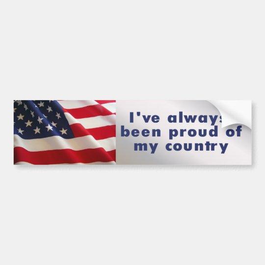 always proud bumper sticker