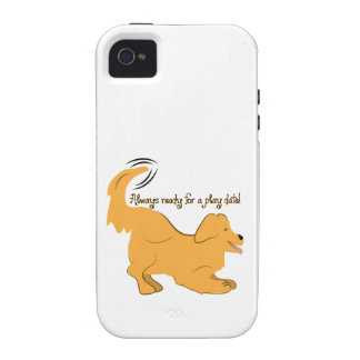 Always Ready For A Play Date Case-Mate iPhone 4 Covers