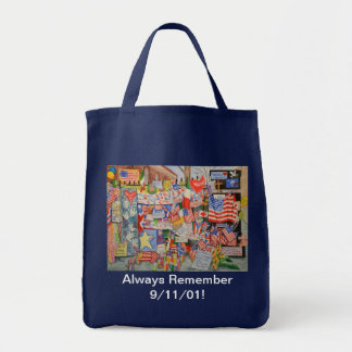 Always Remember! Grocery Tote Grocery Tote Bag