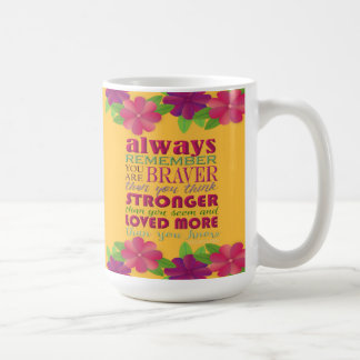 Always Remember You Are - MUG
