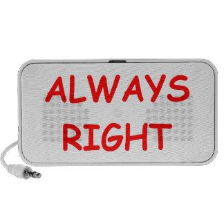 always right mini speaker