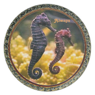 Always Seahorse Collection Plate