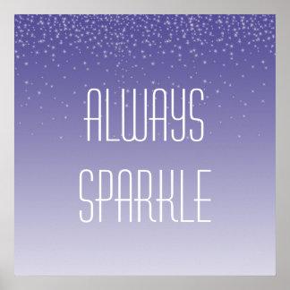 Always Sparkle Print