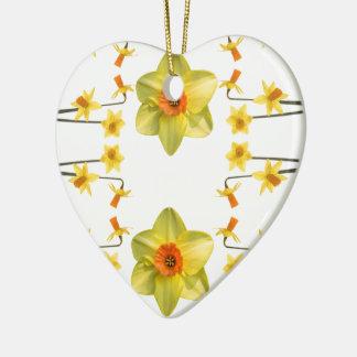 Always Spring Ceramic Heart Decoration