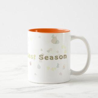 Always the Best Season - Fall Two-Tone Mug