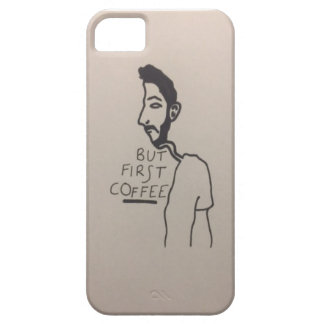 Always thinking about Coffee iPhone 5 Cover