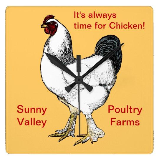 Always Time for Chicken Restaurant or Farm Kitchen