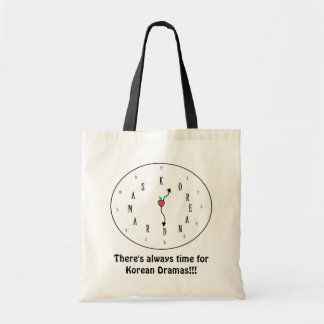 Always time for Korean Dramas! Tote Bag