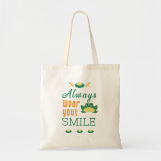 Always wear your smile Motivational Quote