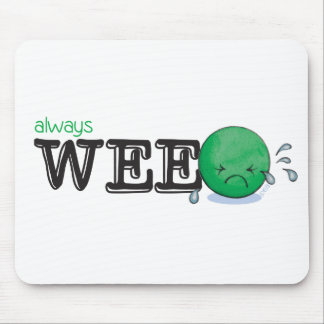 Always WeePEA Mouse Mat