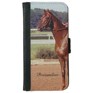 Alydar Belmont Stakes Post Parade 1978 iPhone 6 Wallet Case