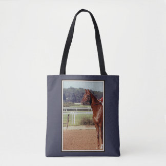 Alydar Belmont Stakes Post Parade 1978 Tote Bag