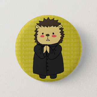 Alyosha Karamazov hedgehog button