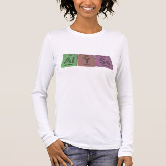 Alyse as Aluminium Long Sleeve T-Shirt