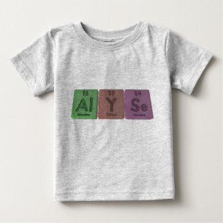 Alyse as Aluminium Yttrium Selenium Tshirts