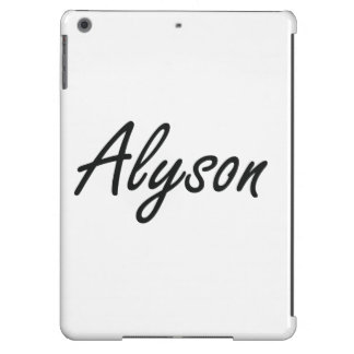 Alyson artistic Name Design Case For iPad Air