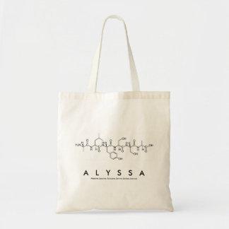 Alyssa peptide name bag