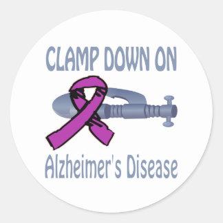 Alzheimer&Apos;S Disease Classic Round Sticker