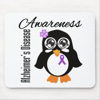 Alzheimer s Disease Awareness Penguin Mousepads