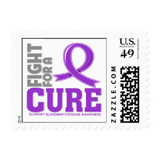 Alzheimer's Disease Fight For A Cure Stamps