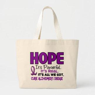 Alzheimer's Disease HOPE 1 Canvas Bags