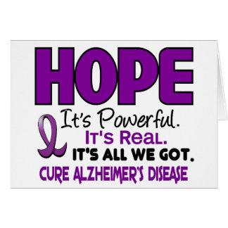 Alzheimer's Disease HOPE 1 Cards
