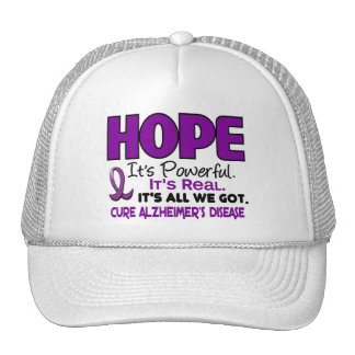 Alzheimer's Disease HOPE 1 Mesh Hat