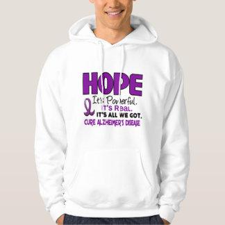 Alzheimer's Disease HOPE 1 Hoodies