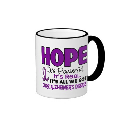 Alzheimer's Disease HOPE 1 Mugs