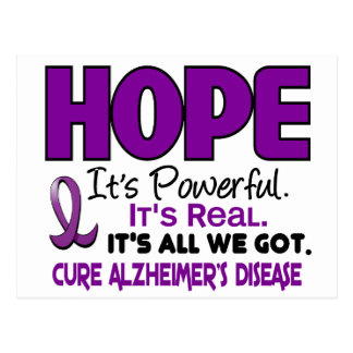 Alzheimer's Disease HOPE 1 Postcard