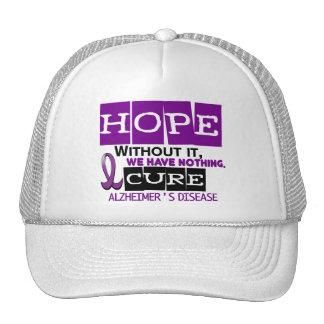 Alzheimer's Disease HOPE 2 Hat