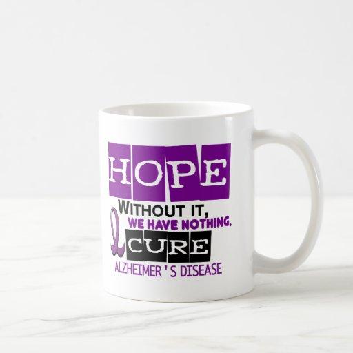 Alzheimer's Disease HOPE 2 Mug