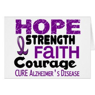 Alzheimer's Disease HOPE 3 Cards