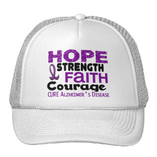 Alzheimer's Disease HOPE 3 Mesh Hat